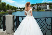 Classic Princess Ball gown silhouette Nadine wedding dress by DevotionDresses