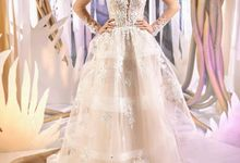 Modern Princess Ball gown silhouette Namia wedding dress by DevotionDresses