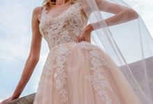 Luxury Princess Ball gown silhouette Rosalia wedding dress by DevotionDresses