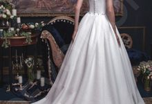 Classic Princess Ball gown Grissa wedding dress by DevotionDresses