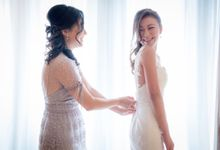 Actual Wedding at Fullerton Hotel by Airin Lee Professional Hair and Make Up