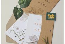 Invitation for Tiara & Ardi by Soraksorai