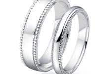 Tiaria Love Circle Wedding Ring by TIARIA