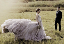 Prewedding Dress by Tiffany Bridal