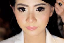 Fanny Wedding-look by Tiffany Roselin Makeup Artist