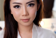 Enhancing her beauty by Tiffany Roselin Makeup Artist