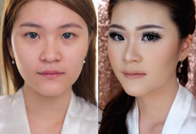 Asian Make-up Wedding by Tiffany Roselin Makeup Artist