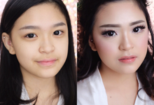 Sweet & Romantic Wedding Make-up  by Tiffany Roselin Makeup Artist