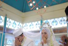 The wedding of Ayu & Alwand by Tiffany WO