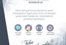 Undangan Digital Elegant Blue Winter by Invian.id