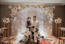 Sangjit Tiffany & Timothy by Reginapangmakeup