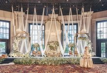 The Wedding Of Timotius & Amanda by 4Seasons Decoration