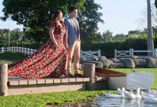 Kat Go and VJ Tan Prenup by Tin Doroteo Beauty/Bridal Makeup