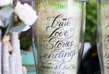 Tinus & Cha Cha Wedding Souvenir by Artluz