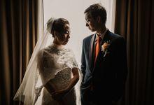 Tio & Celia Wedding at Santika Premiere Hayam Wuruk by AKSA Creative