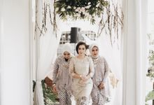 The Engagement Of Samudra & Shinta by Elior Design