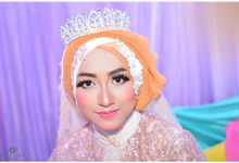 Akad & resepsi wedding makeup by Tiyas Makeup