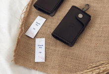 Key Wallet Genuine Leather for TUGU by TJIJERAHMADE