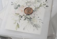 Rita & Irvan Acrylic Invitation by TJIJERAHMADE
