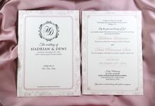 Hadrian & Dewi Wedding Invitations by Blumento Cards