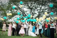 ADITYA & NATHANIA by Raffles Hills Cibubur - On Green Garden Venue