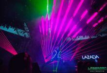 lasermanjakarta show for lazada super party on sctv l lasermanindonesia l laserman l laserman by mingworks by Laserman show