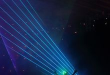 laserman indonesia l lasermanjakarta l laserman show for exquisite awards l Kempinski hotel by Laserman show