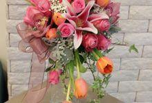Bridal Bouquet by defloriee flower boutique