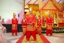 Resepsi Adat Padang by Dirasari Catering