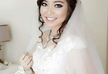 Mr Nugroho and Ms Cindy Wedding by Natcha Makeup Studio