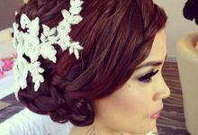 Rethy & Andry wedding by Marsia Yulia Signature. Natural and Korean Make Up Specialist.