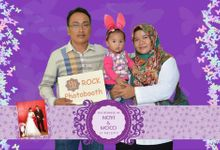 the wedding of Novi & Moco by ROCK Photo Booth