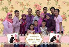 the wedding of Adin & Reza by ROCK Photo Booth