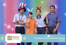 graduation of popay montessori preschool by ROCK Photo Booth