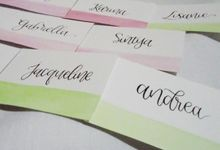 Place Cards by La Vie Calligraphy