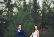 Pre-wedding shoot♥Jonas And Jolin by Gin Tan makeup artist