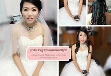 Bridal All-In Package @$1668 Only by Makeupwifstyle