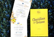 Christian & Trisna by Toho Cards