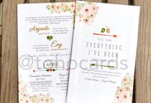 Aryanto & Eny by Toho Cards