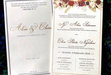 Alvin & Clara by Toho Cards