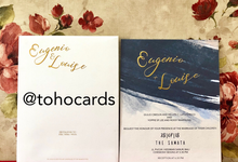 Eugenio & Louise by Toho Cards