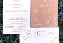 Putra & Vania by Toho Cards