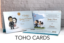 Yunky & Deborah by Toho Cards