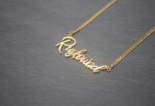Customize necklace by Toko Emas Kesayangan