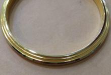Custom bangles by Toko Emas Kesayangan