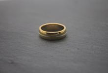 Custom mens ring by Toko Emas Kesayangan