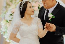 Wedding of Yani by Reginapangmakeup