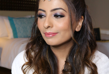 India bride ms. Anjalid mello by Tom bryan make up artist