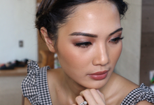 Flawless makeup for ms. Tirza by Tom bryan make up artist