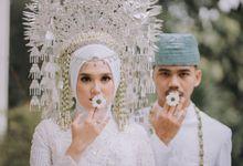 Minimalist Minang Wedding Icha & Dana by Hexa Images